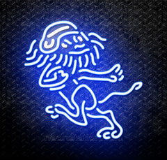 NCAA Columbia Lions Logo Neon Sign