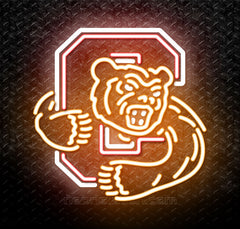 NCAA Cornell Big Red Logo Neon Sign
