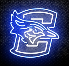 NCAA Creighton Bluejays Logo Neon Sign