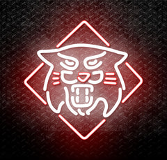 NCAA Davidson Wildcats Logo Neon Sign
