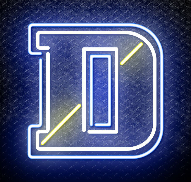 NCAA Delaware Blue Hens Logo Neon Sign