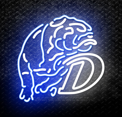 NCAA Drake Bulldogs Neon Sign