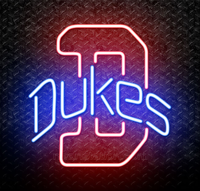 NCAA Duquesne Dukes Logo Neon Sign