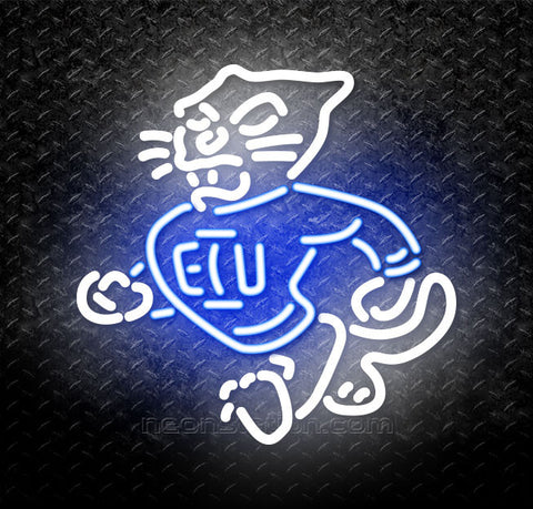 NCAA Eastern Illinois Panthers Logo Neon Sign