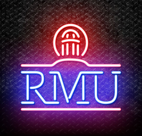 NCAA Robert Morris Colonials Logo Neon Sign