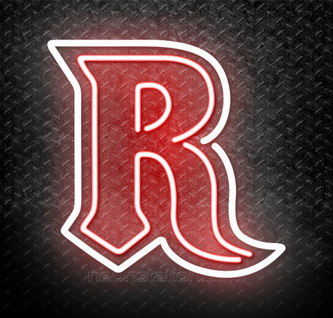 NCAA Rutgers Scarlet Knights Logo Neon Sign