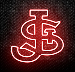 NCAA St Johns Red Storm Logo Neon Sign