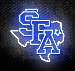 NCAA Stephen F Austin SFA Lumberjacks Neon Sign