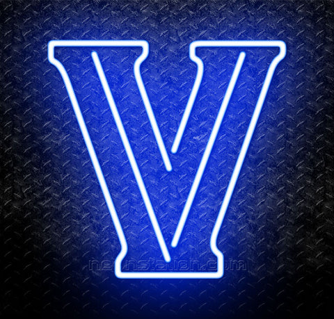 NCAA Villanova Wildcats Logo Neon Sign