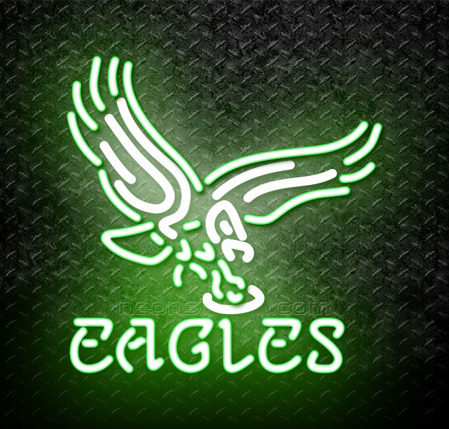 Nfl Philadelphia Eagles Logo Neon Sign For Sale Neonstation