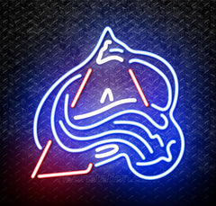 NHL Colorado Avalanche Logo Neon Sign