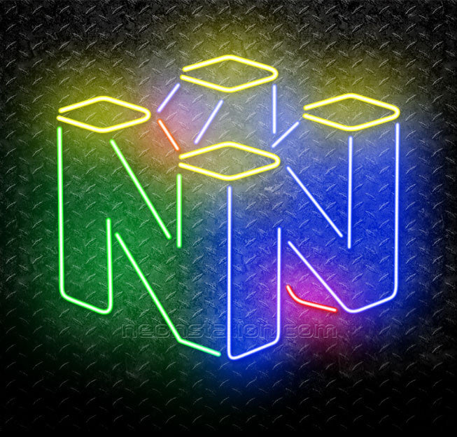 Neon Signs For Sale >> Nintendo Logo Neon Sign For Sale Neonstation