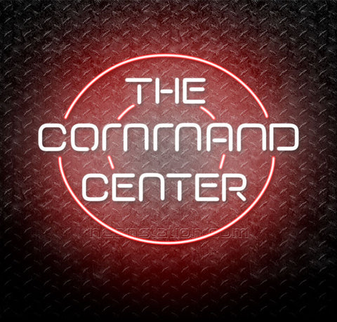 Red Alert Command Center Neon Sign