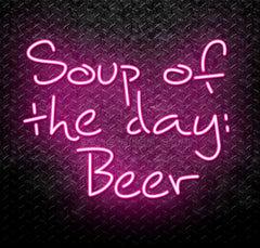 Soup Of The Day: Beer Neon Sign