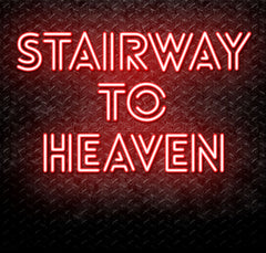 Stairway To Heaven Neon Sign