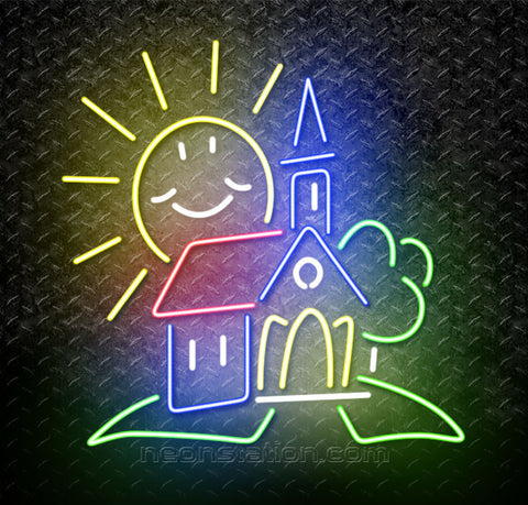 Sunny Day Church Neon Sign