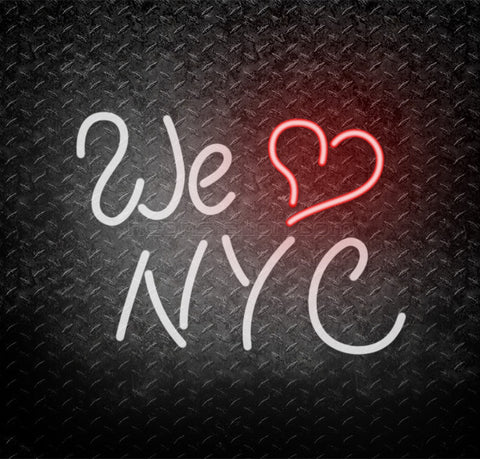 We Love NYC New York City Neon Sign