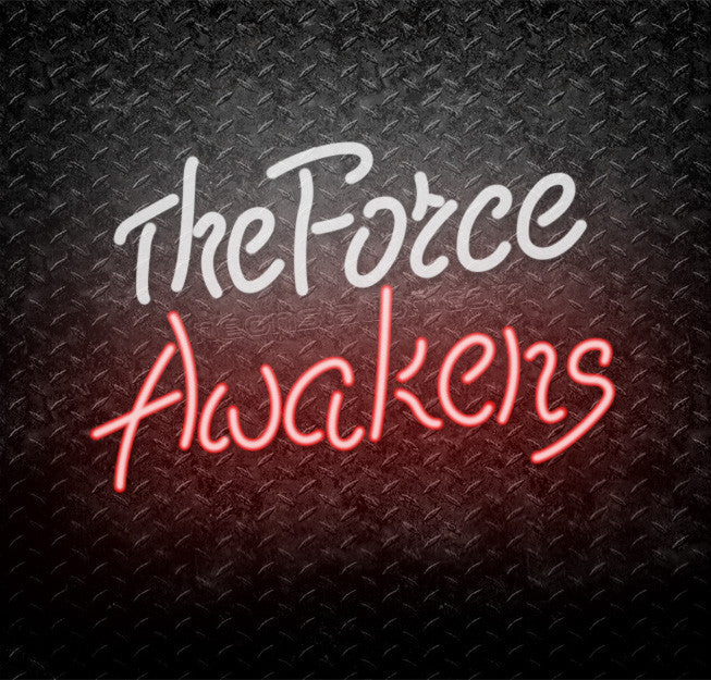 Star Wars The Force Awakens Neon Sign