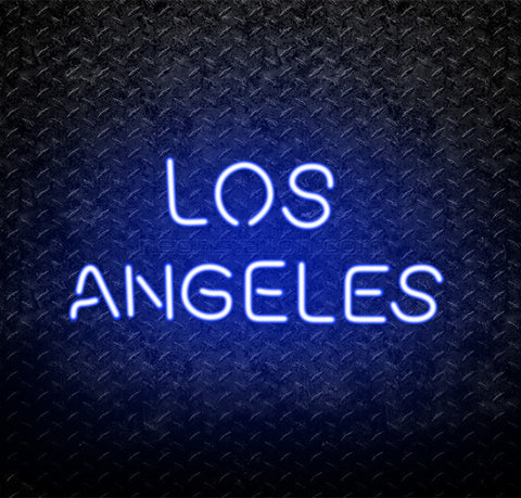 Los Angeles LA Neon Sign