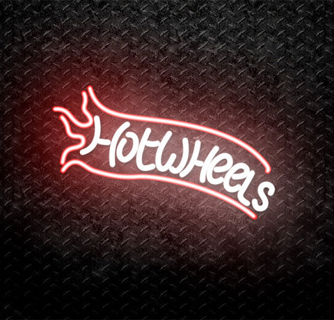 Hot Wheels Neon Sign