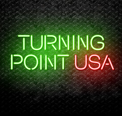 TPUSA Turning Point USA Neon Sign