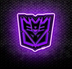 Transformers Decepticons 3D Neon Sign