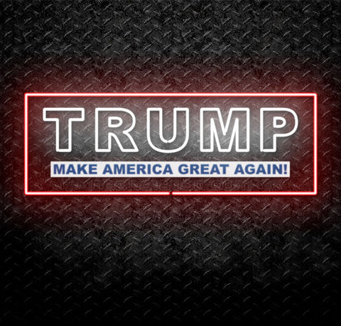 Donald Trump Make America Great Again Neon Sign