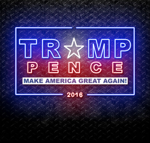Trumpence 2016 Neon Sign