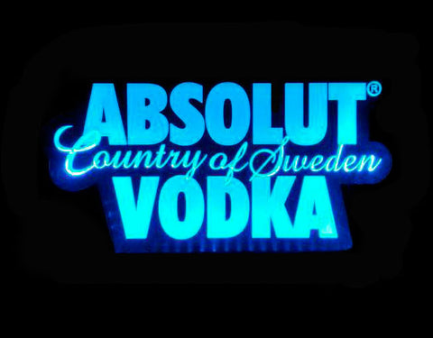 Absolut Vodka Country of Sweden LED Sign