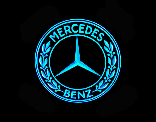 Mercedes Benz LED Sign