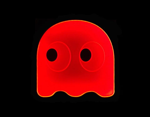 Pacman Shadow Blinky LED Sign