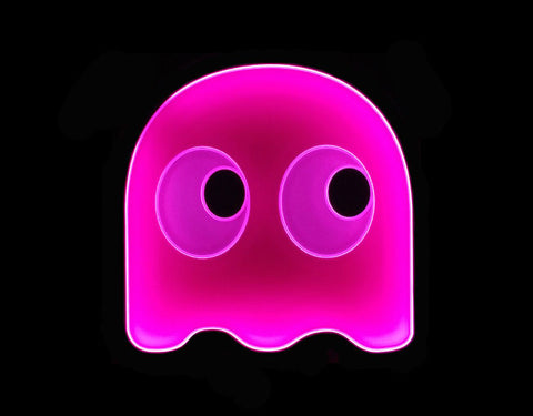 Pacman Speedy Pinky LED Sign