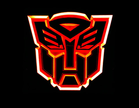 Transformers Autobots LED Sign