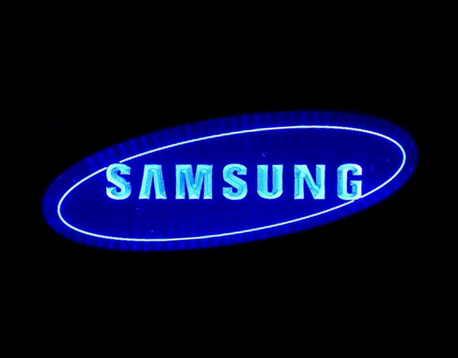 Samsung LED Sign