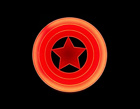 Captain America Shield LED Sign