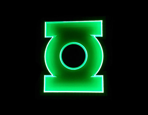 Green Lantern LED Sign