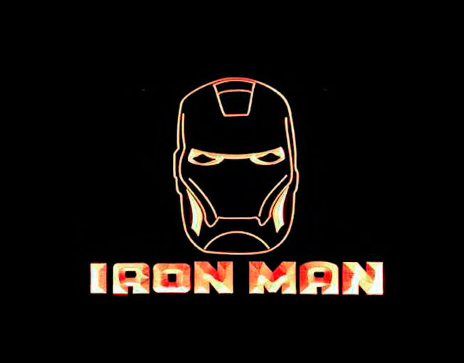 Iron Man LED Sign