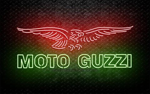 Moto Guzzi Eagle Neon Sign