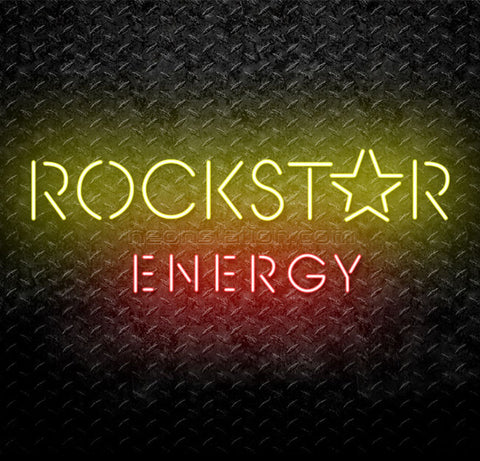 Rockstar Energy Drink Neon Sign