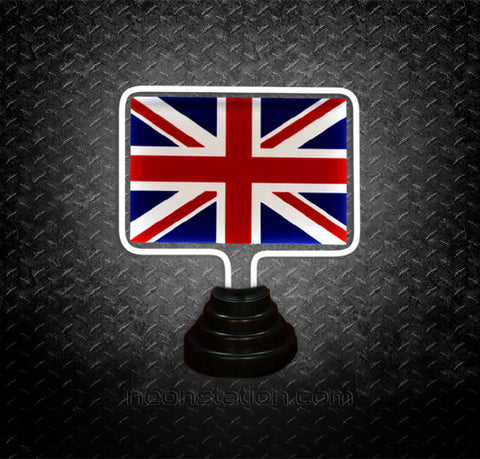 UK Flag Table Top Neon Sign | Neonstation