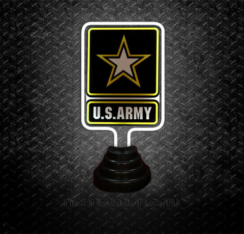 US Army Table Top Neon Sign | Neonstation