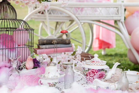 high tea by exotic soirees luxury marquee and tent hire