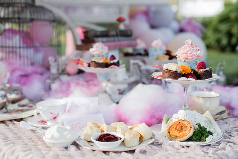 high tea food and luxury tents gold coast exotic soirees