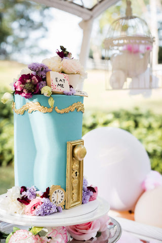 cake for a mad hatters high tea by exotic soirees