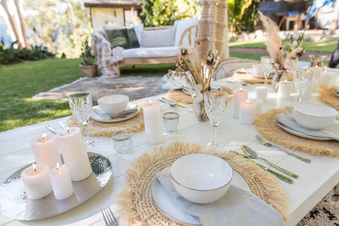 grazing table under a luxury tent from exotic soirees hire gold coast and brisbane
