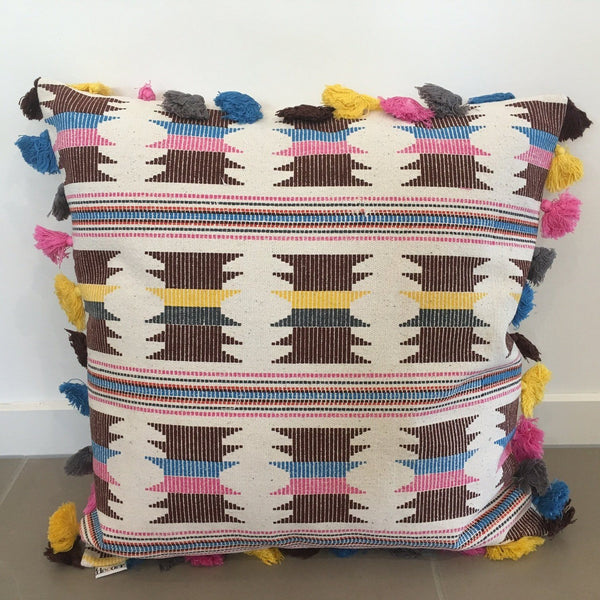 aztec and moroccan colourful cushions for hire gold coast and brisbane