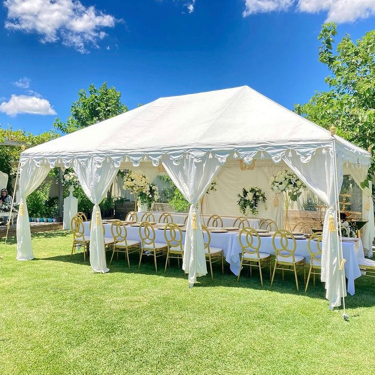Luxury Marquee White 6x4 Metre