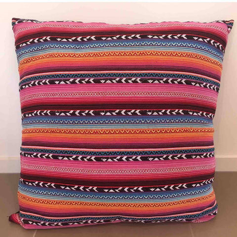 large colourful rajasthan and moroccan inspired floor cushion available from exotic soirees luxury marquee hire gold coast and byron bay