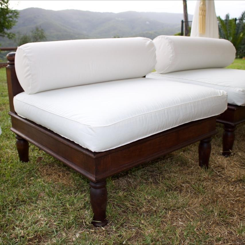 White Lowline Single Sofa For Hire From Exotic Soirees Luxury Marquees  Furniture Gold Coast Brisbane