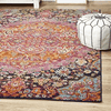 indian hippie colourful rug
